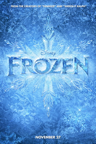 Frozen - Uma Aventura Congelante Teaser Poster High Resolution