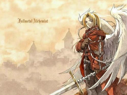 Fullmetal Alchemist Wallpaper Containing A Horse Wrangler Called