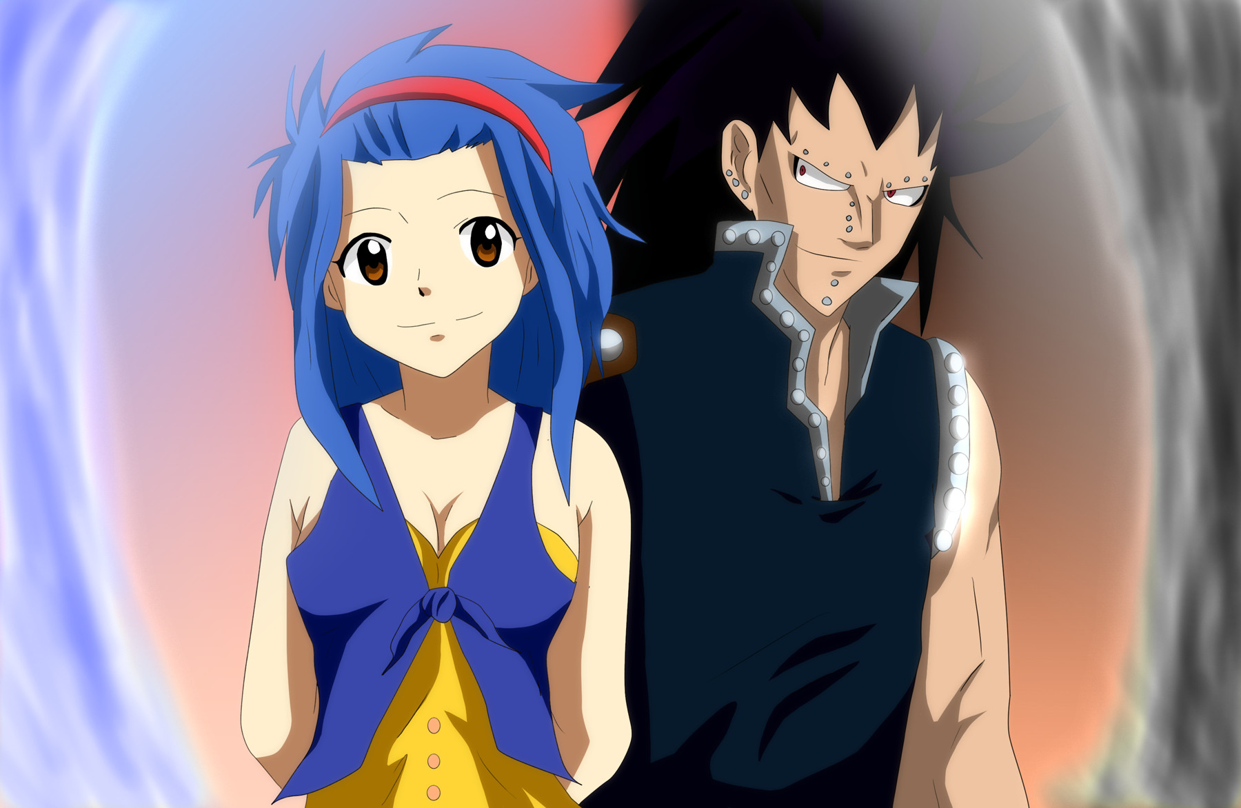 gajeel and levy   levy mcgarden photo 34714545   fanpop