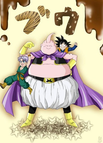 Goten, Trunks and mr buu