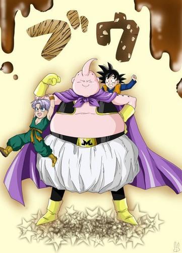Goten, Trunks and mr buu