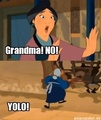 Gramma YOLO! - mulan photo
