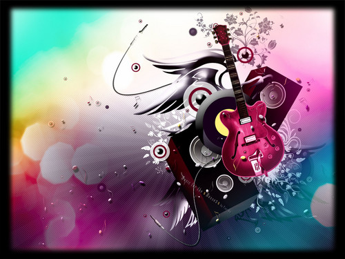Guitar with DJ editting - music Fan Art