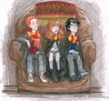 Hagrid's Hut - harry-ron-and-hermione fan art