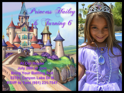 Sofia The First kertas dinding titled Hailey's 6
