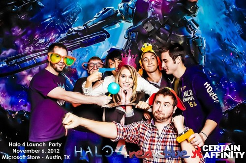 Halo 4 Launch Party w/ 343 and Certain Affinity
