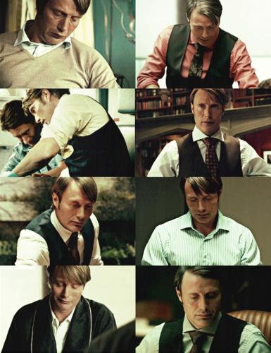 Dr. Lecter + no veste appreciation