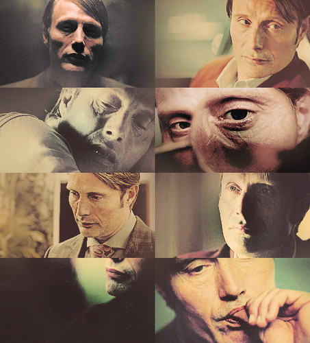 Hannibal Lecter + up close and personal