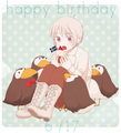 Happy Birthday Iceland~ <3 - hetalia photo