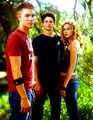Hilarie, Chad & James OTH Old Promo's <3 - one-tree-hill photo