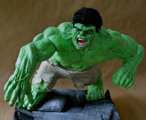Hulk Sculpture