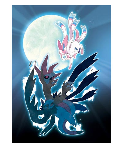 Hydreigon vs Sylveon