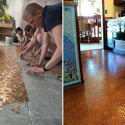 I Want This Floor in My Kitchen!