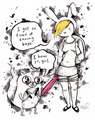 I'm tired of saving boys - adventure-time-with-finn-and-jake fan art