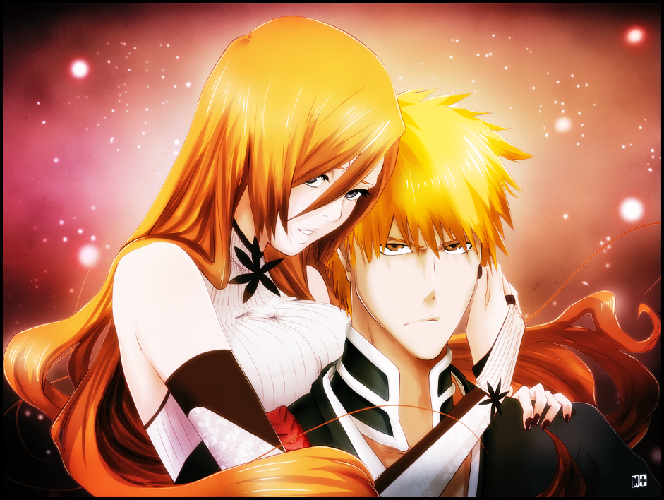 Ichigo x Orihime - Bleach Anime Photo (34755412) - Fanpop