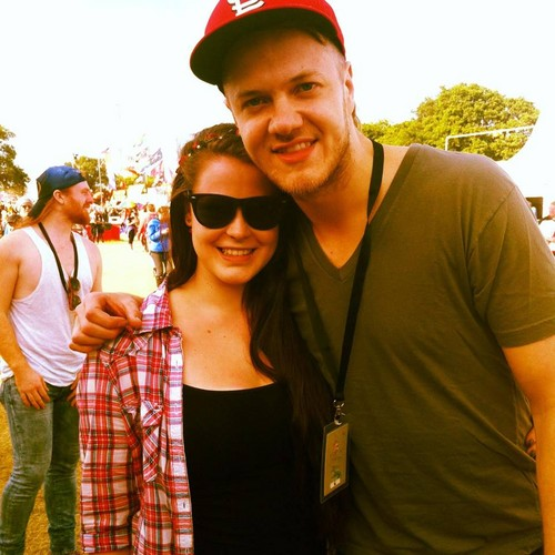 Isle of Wight Festival - fan Picture (This girl is actually my friend)