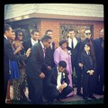 Jackson family at the wedding of Taj Jackson - blanket-jackson photo
