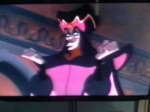 Jafar, disney's most popular and evil villain of all time