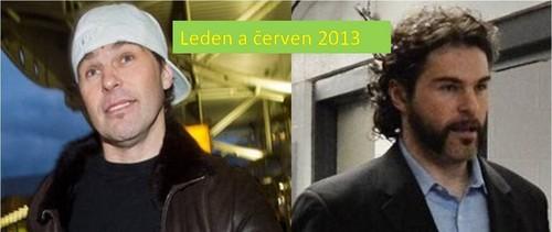 Jagr : How changed visage during 5 months !
