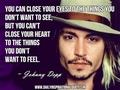 Johnny Depp's qoutes