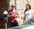 Josh out with Claudia(?)  (6/17/2013) - josh-hutcherson photo