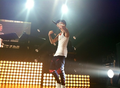 Justin on stage at Cody's concert tonight (JunE 14) - justin-bieber photo