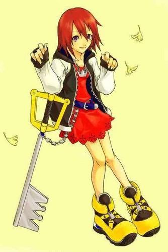 Kairi x Sora crossover