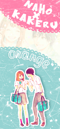Orange (TAKANO Ichigo) wallpaper titled Kakeru and Naho