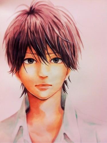 оранжевый (TAKANO Ichigo) Обои probably containing a portrait called Kakeru