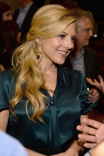 Katherine Winnick at Vikings Screening