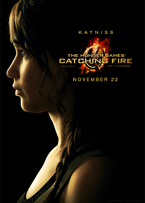 Katniss Poster - The Hunger Games Photo (34752576) - Fanpop