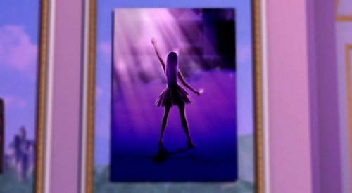 Keira's picture in Princess Tori's room