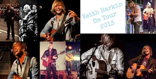 Keith Harkin On Tour 2013