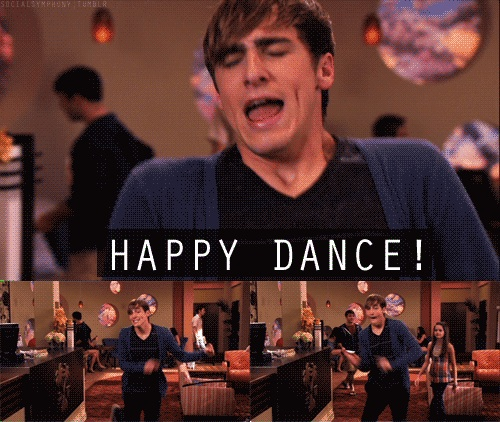 Kendall happy dance