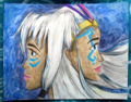 Kida and her Mother