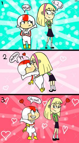 Kindall kiss ^^