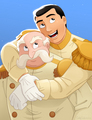King and Prince Charming - disney fan art