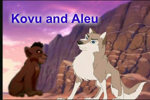 Kovu and Aleu