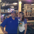 Kristen at the Blues City Cafe in Tennessee on June 16,2013 - robert-pattinson-and-kristen-stewart photo
