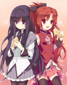 Kyouko & Homura