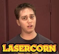 LASERCORN!