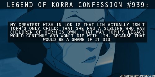 Avatar: The Legend of Korra wallpaper entitled LOK Confessions