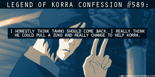 Avatar: The Legend of Korra wallpaper entitled LOK Confessions