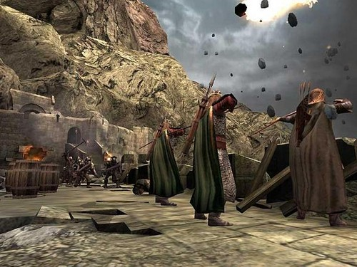 LOTR: Return of the King (video game) screenshot