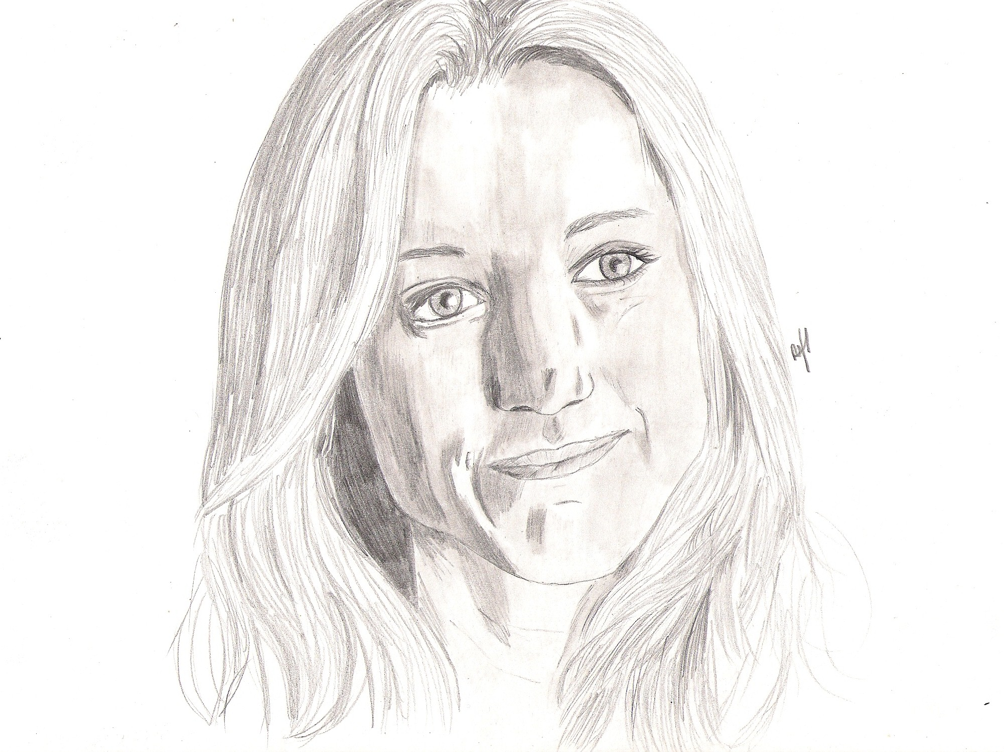 Art Girl Drawing Lost Girl Lauren Drawing