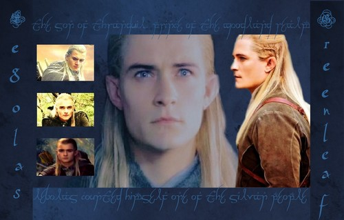 Legolas Elven Warrior वॉलपेपर