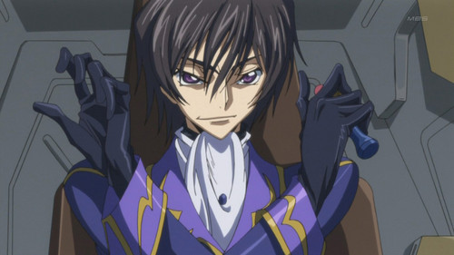 Code Geass karatasi la kupamba ukuta containing anime entitled Lelouch Lamperouge vi Britania