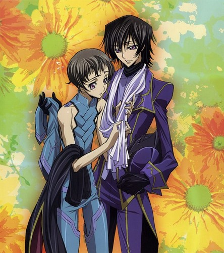 Lelouch and Rollo <3