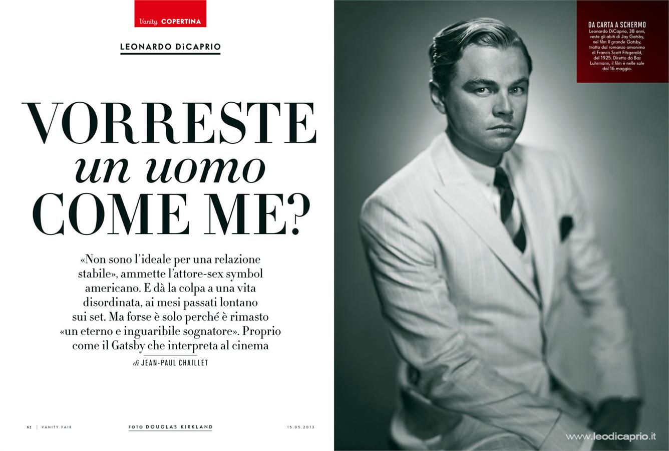 Leonardo Dicaprio Gatsby Italiano The Great Gatsby 2012