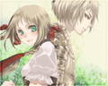 Liechtenstien and Switzerland - hetalia wallpaper